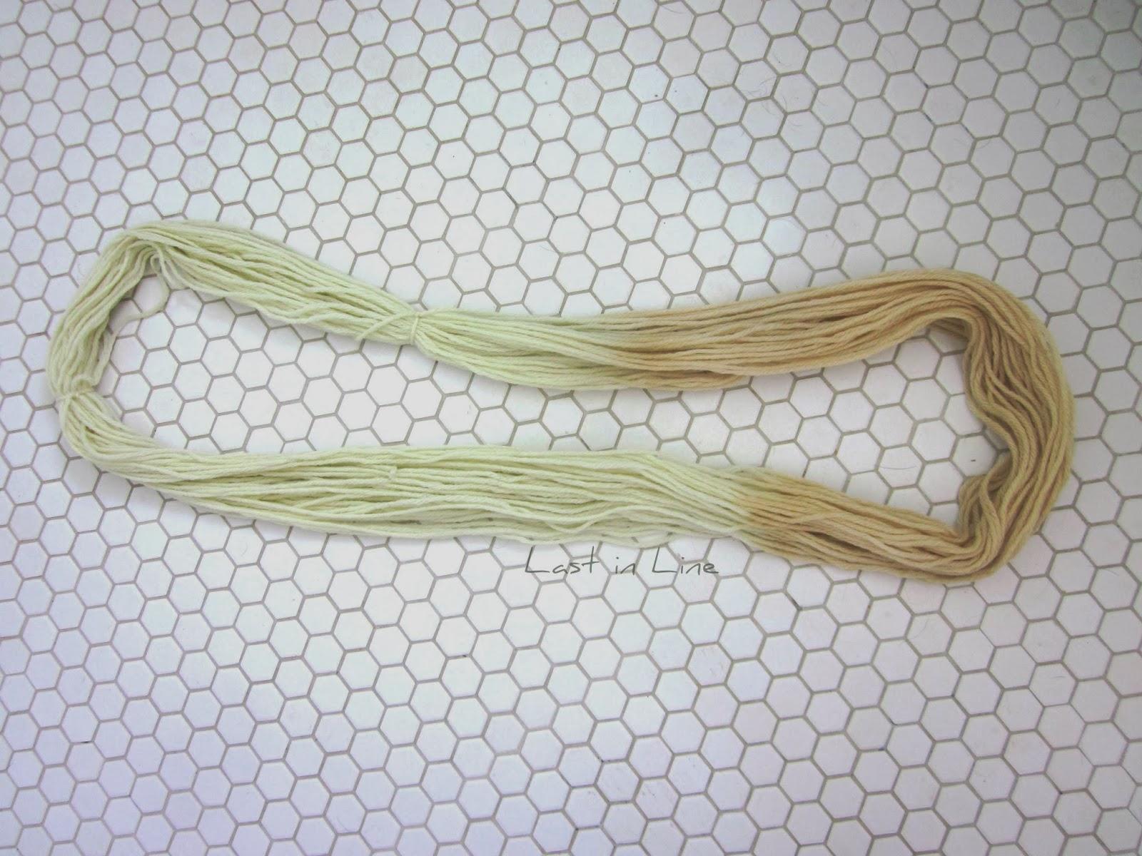 Last in Line: Dyeing Yarn with KoolAid or Tea