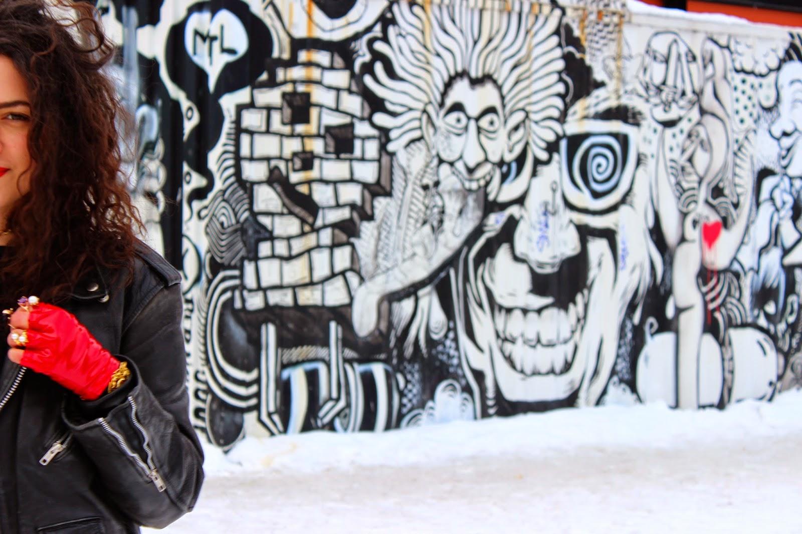 dulcedo agency editorial boutique montreal st laurent street art mural festival metro station gisele ganne jewellery crusader  editorial london fashion week