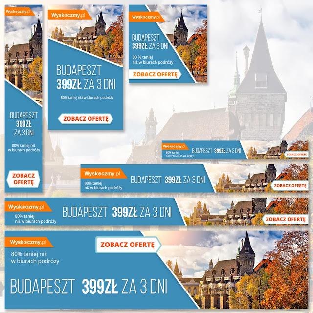Banery reklamowe Google - Budapeszt