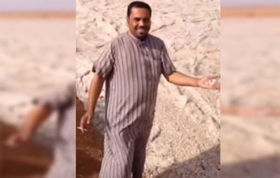 Misteri sungai pasir mengalir dengan laju di Iraq