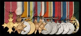 Medals for William Edward Hinchley Cooke  (from Dix Noonan Webb website)