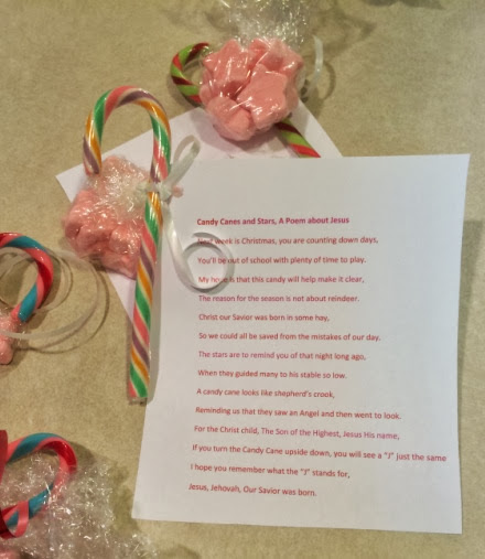 Fancy Meeting Ewe: Candy Canes and Stars, A Christmas Poem about Jesus