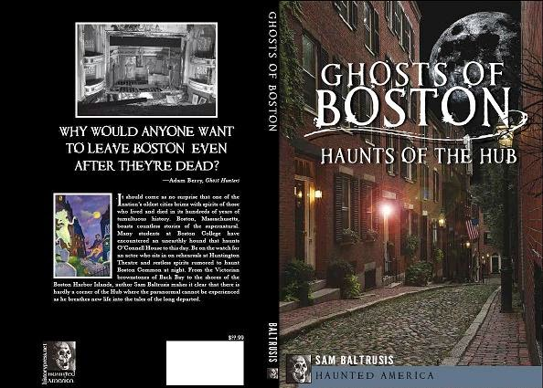 """Ghosts of Boston"" book on Amazon"