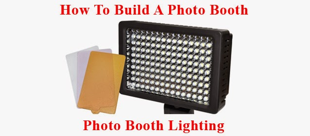 how to build a photo booth shell