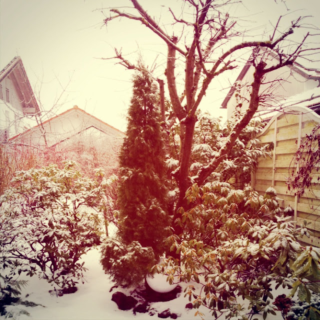 Bei Fräulein Bergers Eltern liegt Schnee