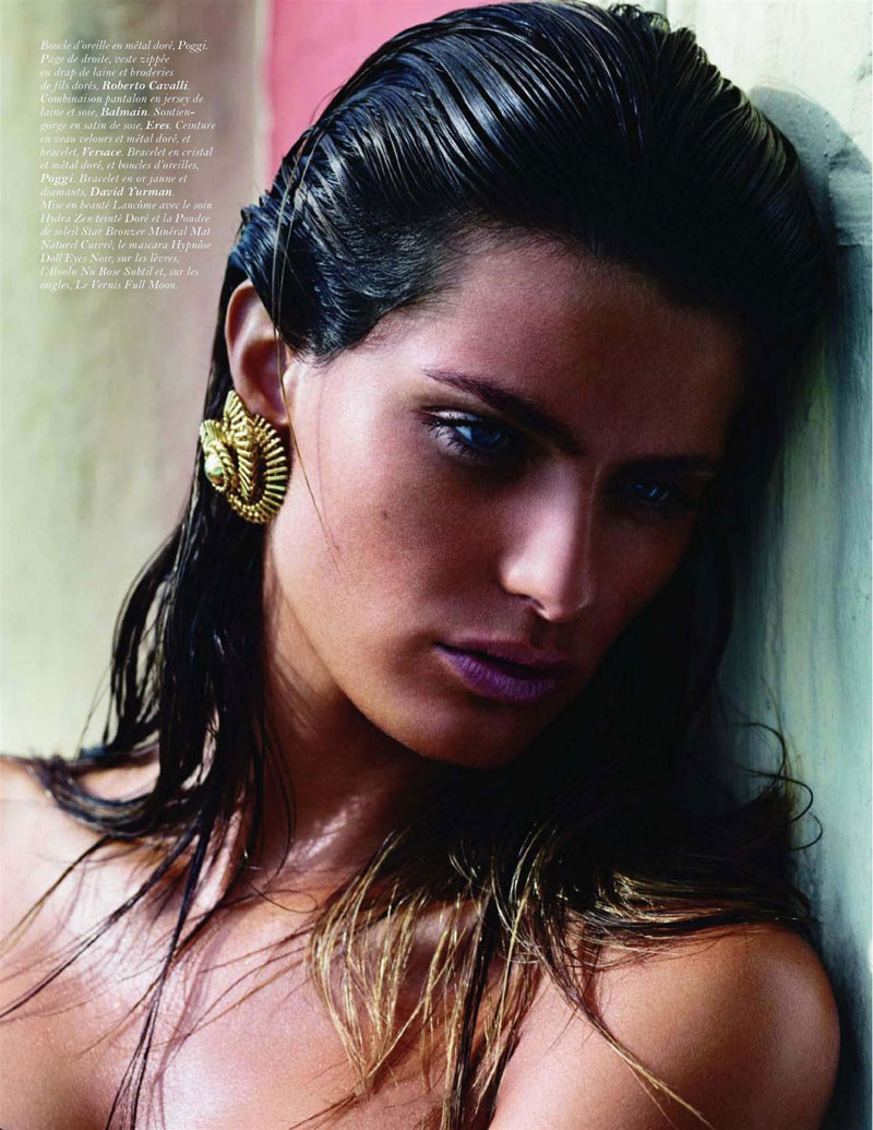 Fashionable Hairs Isabeli Fontana by Mario Sorrenti 10
