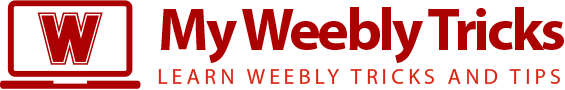 My Weebly Tricks
