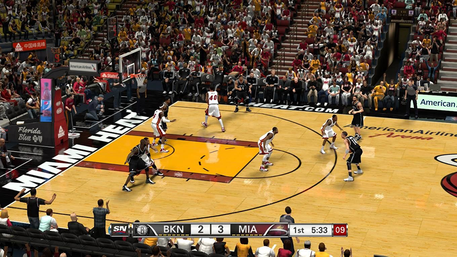 Miami Heat's Court | NBA 2K14