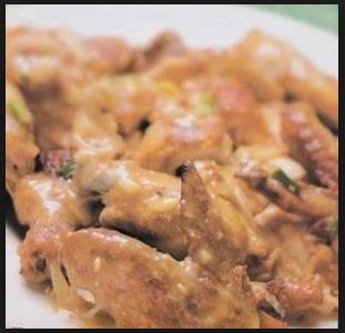 Resep Ayam Bumbu Kacang