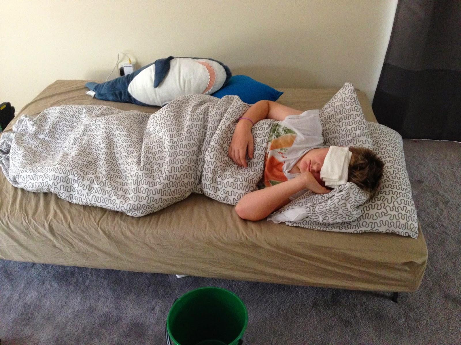 tre dages feber barn
