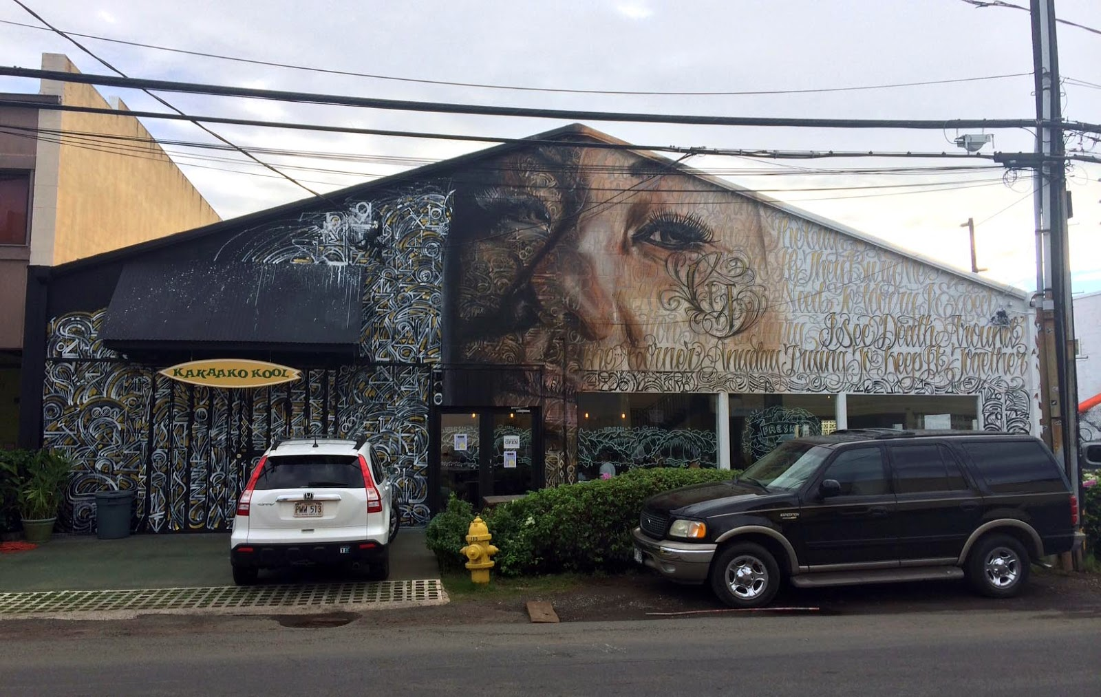 Norm, Defer and Kamea Hadar recently completed this beautiful piece for POW! WOW! Hawaii 2014 in Honolulu. 1