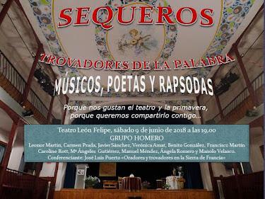 PRÓXIMA ACTUACIÓN: GRUPO HOMERO, TROVADORES DE LAS PALABRAS