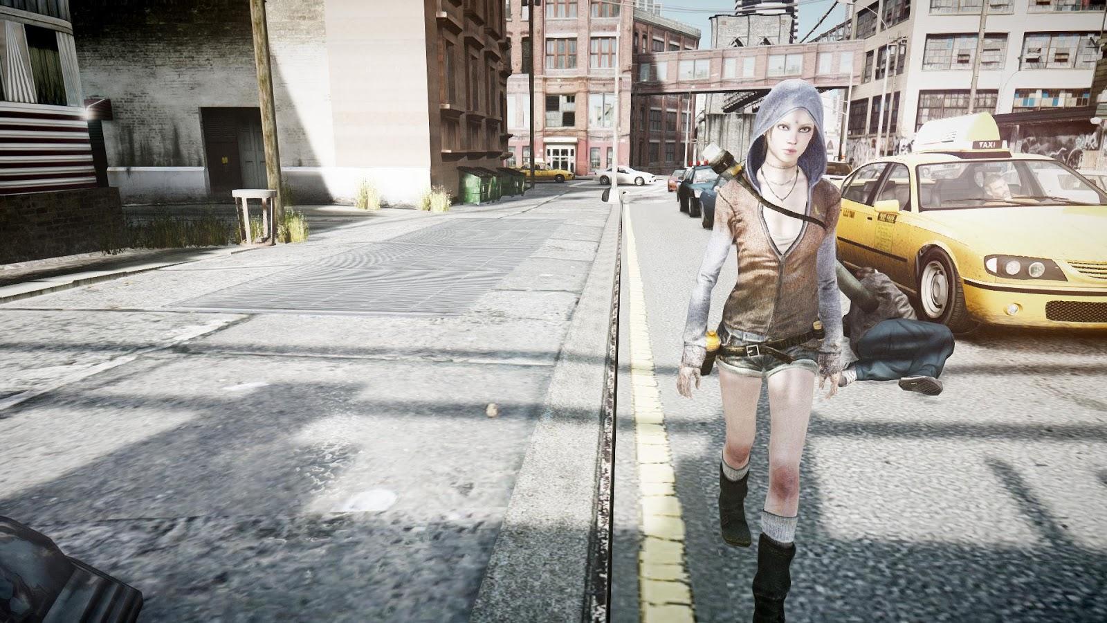Devil May Cry Kat Pack скачать для GTA 4 — GTA.com.ua