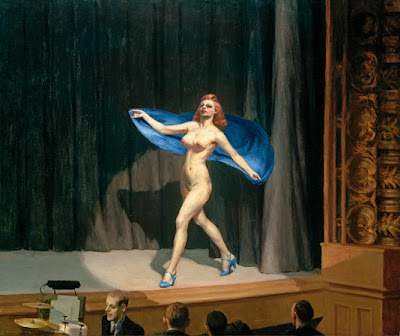 Edward Hopper - girlie show,1941.