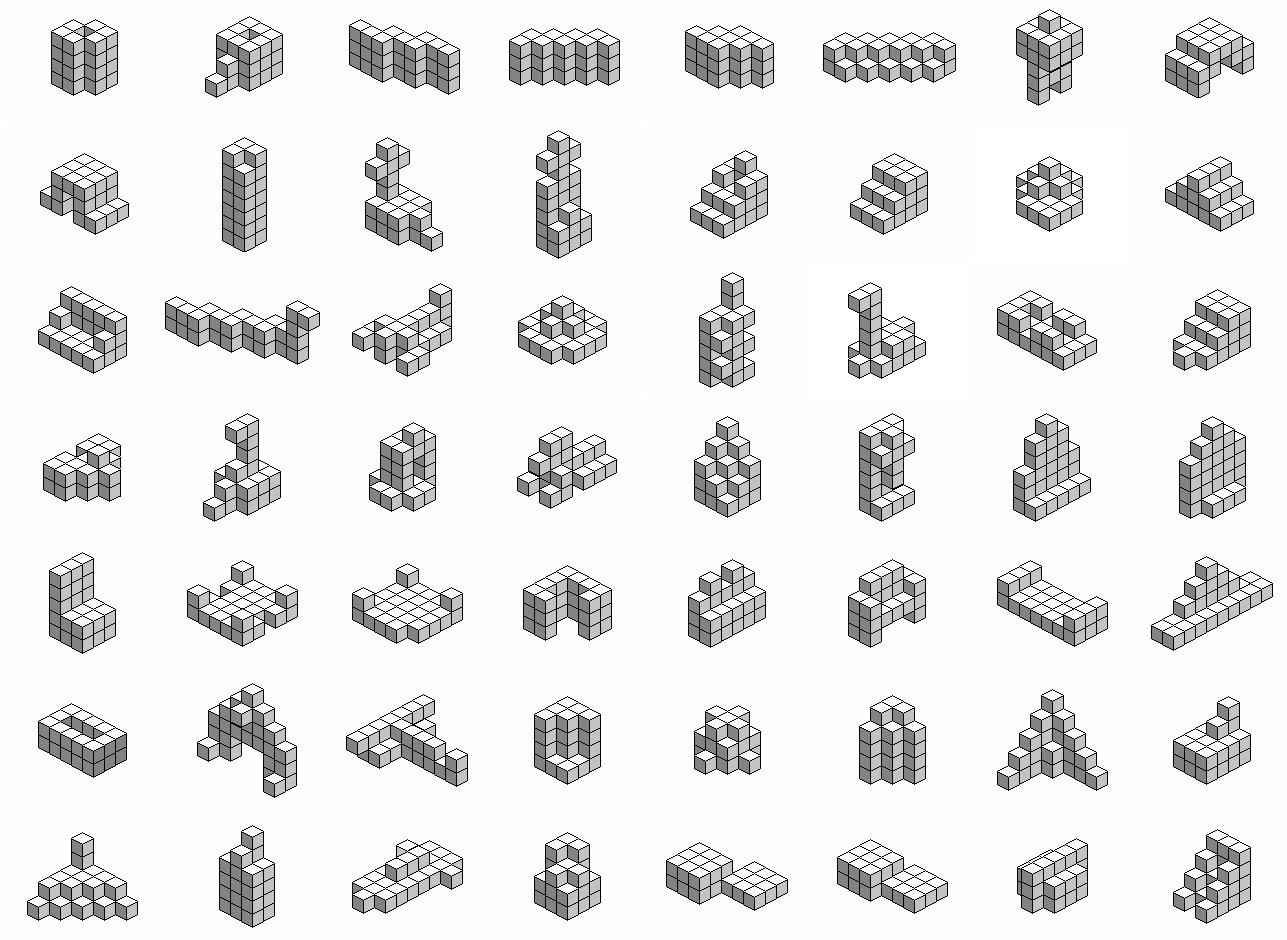 MEDIAN Don Steward mathematics teaching: soma puzzles