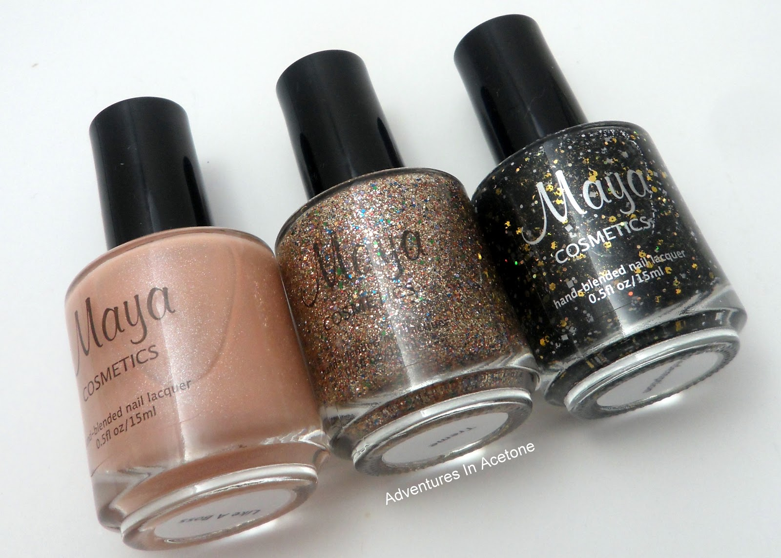 New Maya Cosmetics Polish Swatches! - Adventures In Acetone