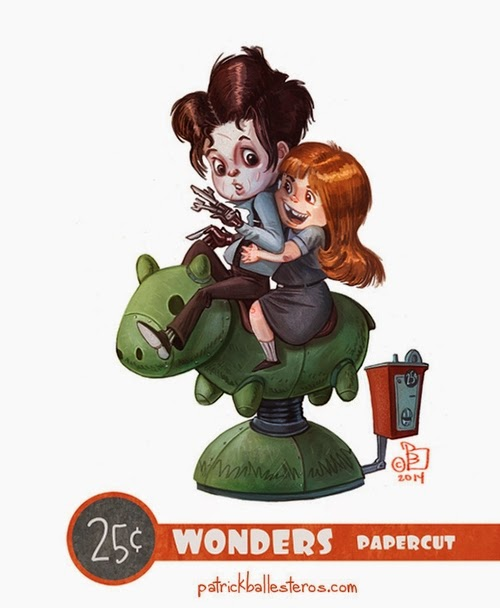 17-Edward-Scissorhands-Patrick-Ballesteros-25-Cent-Wonders-Drawings-www-designstack-co