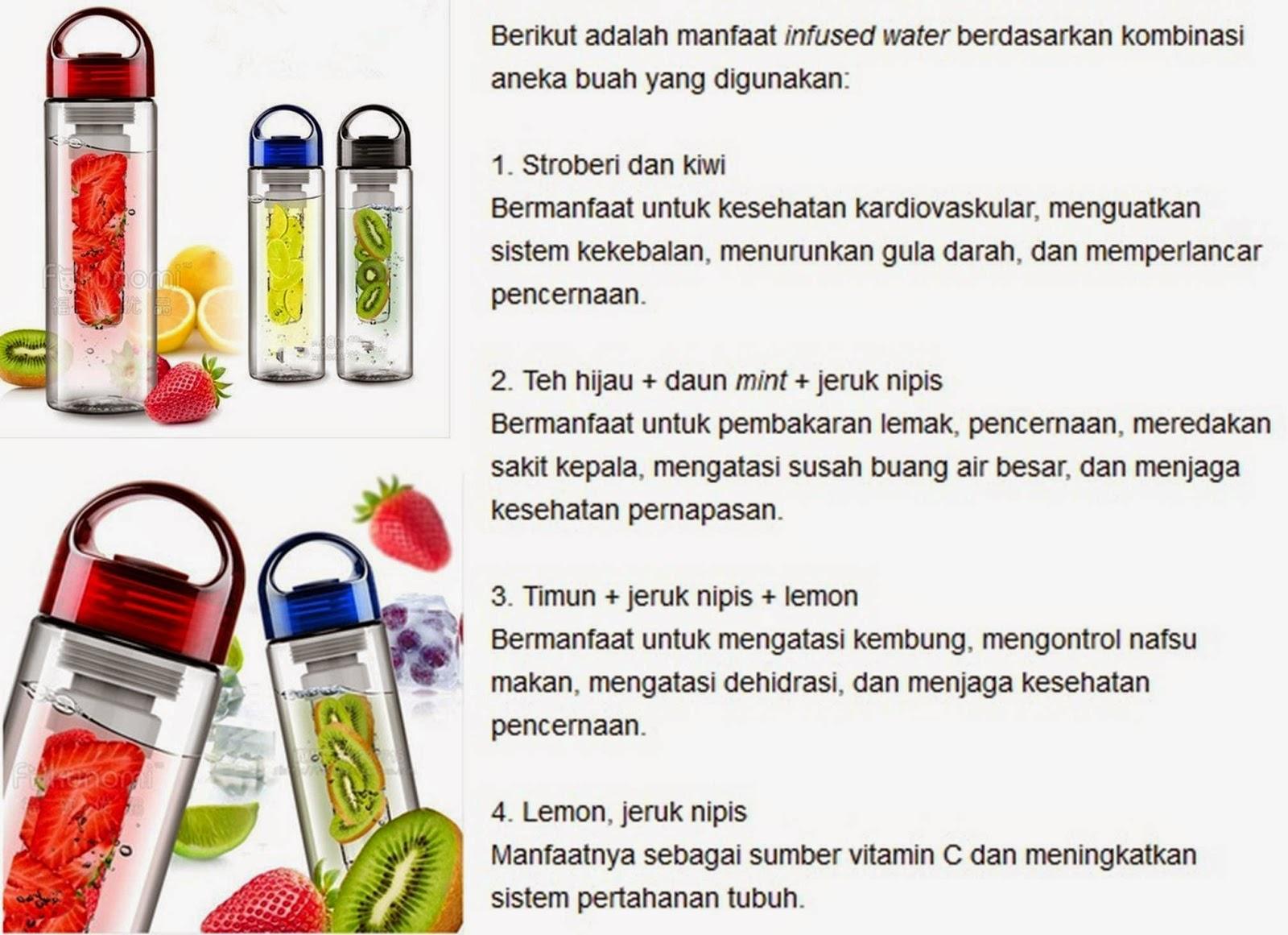 Tritan Bottle 3rd Generation Gen 3 Infused Fruit Water Bpa Free Botol Air Minum Infuse Citrus 2nd Sporty Infuser Generasi 2 Bukan Merk Tupperware Tulipware