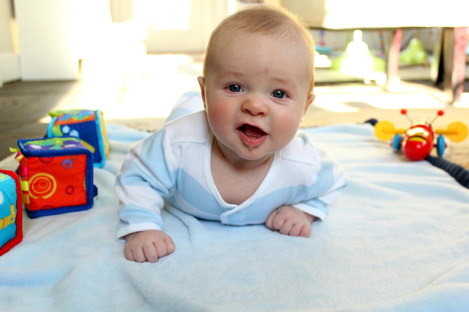 ten june: four months: a baby hdawg update