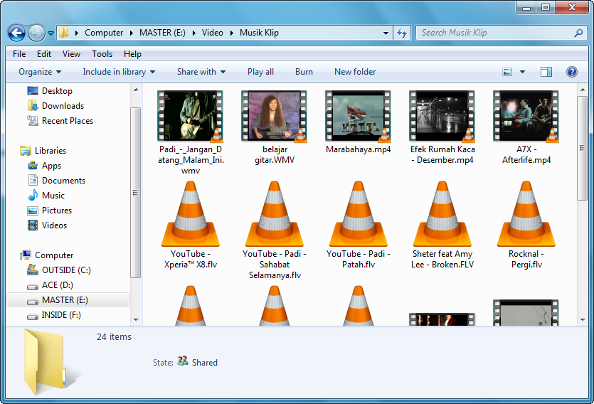 windows explorer tanpa media preview