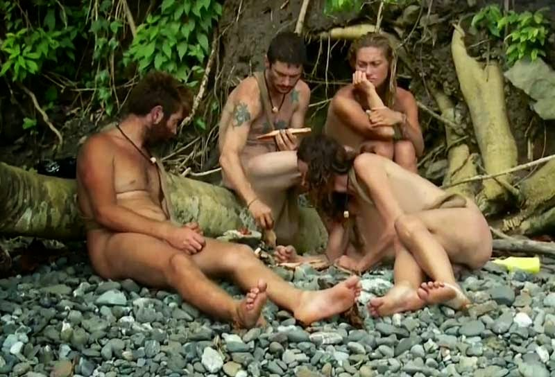 Naked and Afraid, Double Jeopardy Special episode from December 2013
