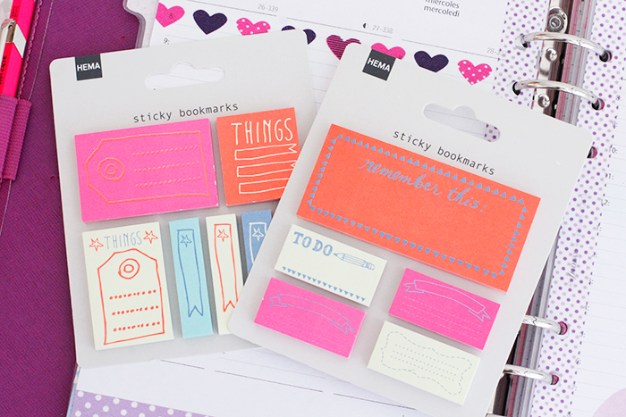 Filofax Haul Hema Sticky Notes