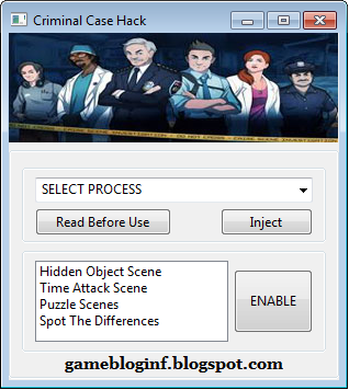 Free Download Criminal Case Hack 2015