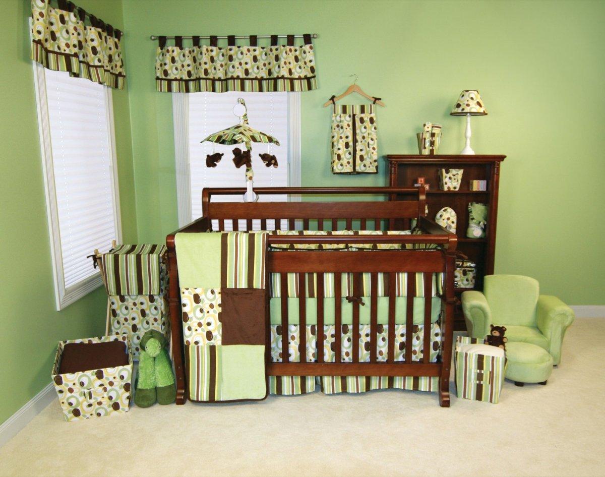 Chambre marron pistache: vert chambre bébé reiod. couleur peinture ...
