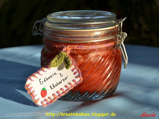 Rezept Erdbeer-Rhabarber-Konfitüre