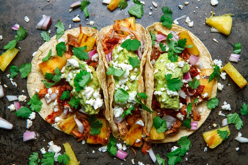 pineapple pork tacos pork and pineapple tacos tacos al pastor recipe ...