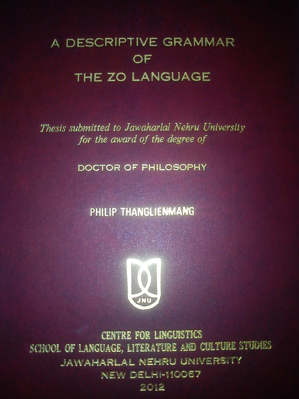 Doctoral Thesis On