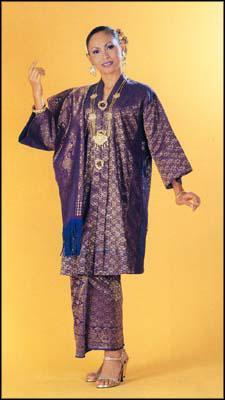Blog Seripinang Rencana Pakaian Tradisional Melayu
