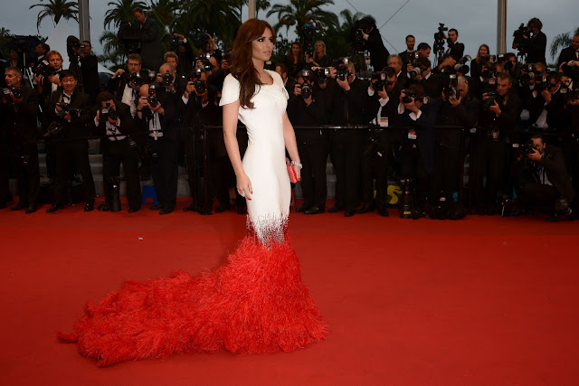 Cheryl Cole Cannes 2012