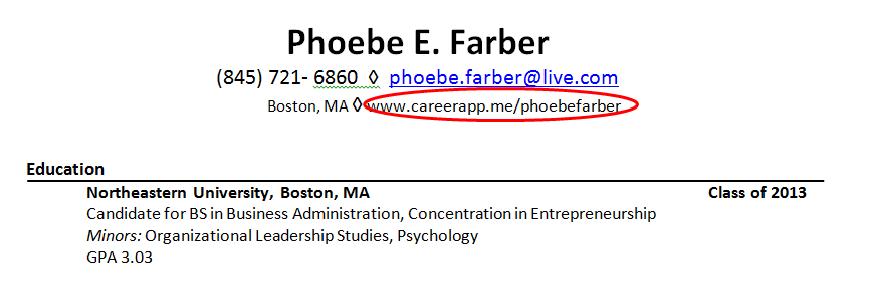 CareerApp: May 2013