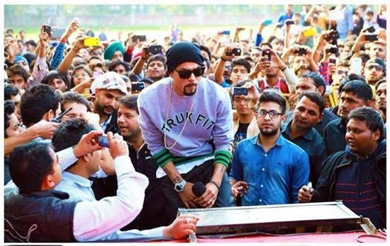 BOHEMIA LIVE IN CONCERT HANS RAJ COLLEGE DELHI UNIVERSITY 2