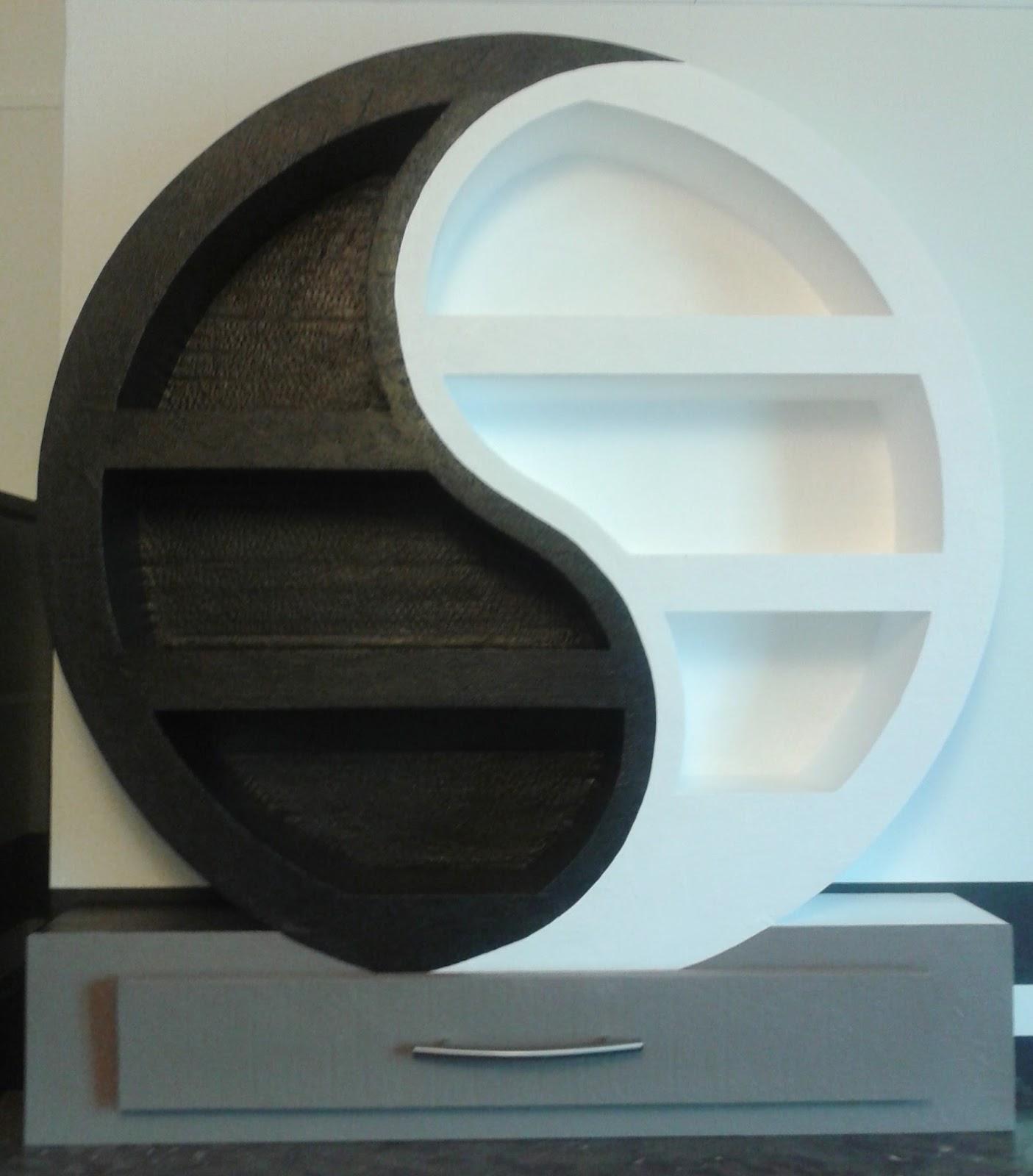 Sabine cr a carton chambre garcon for Meuble ying yang