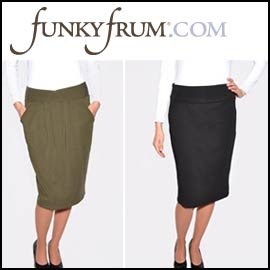 Below The Knee Skirts By Funky Frum Modest Dresses