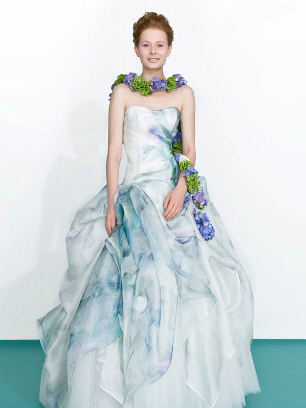 printed Wedding Dresses 2013 From Atelier Aimée
