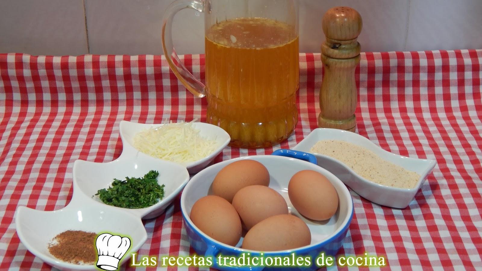 Receta de la sopa Angélica