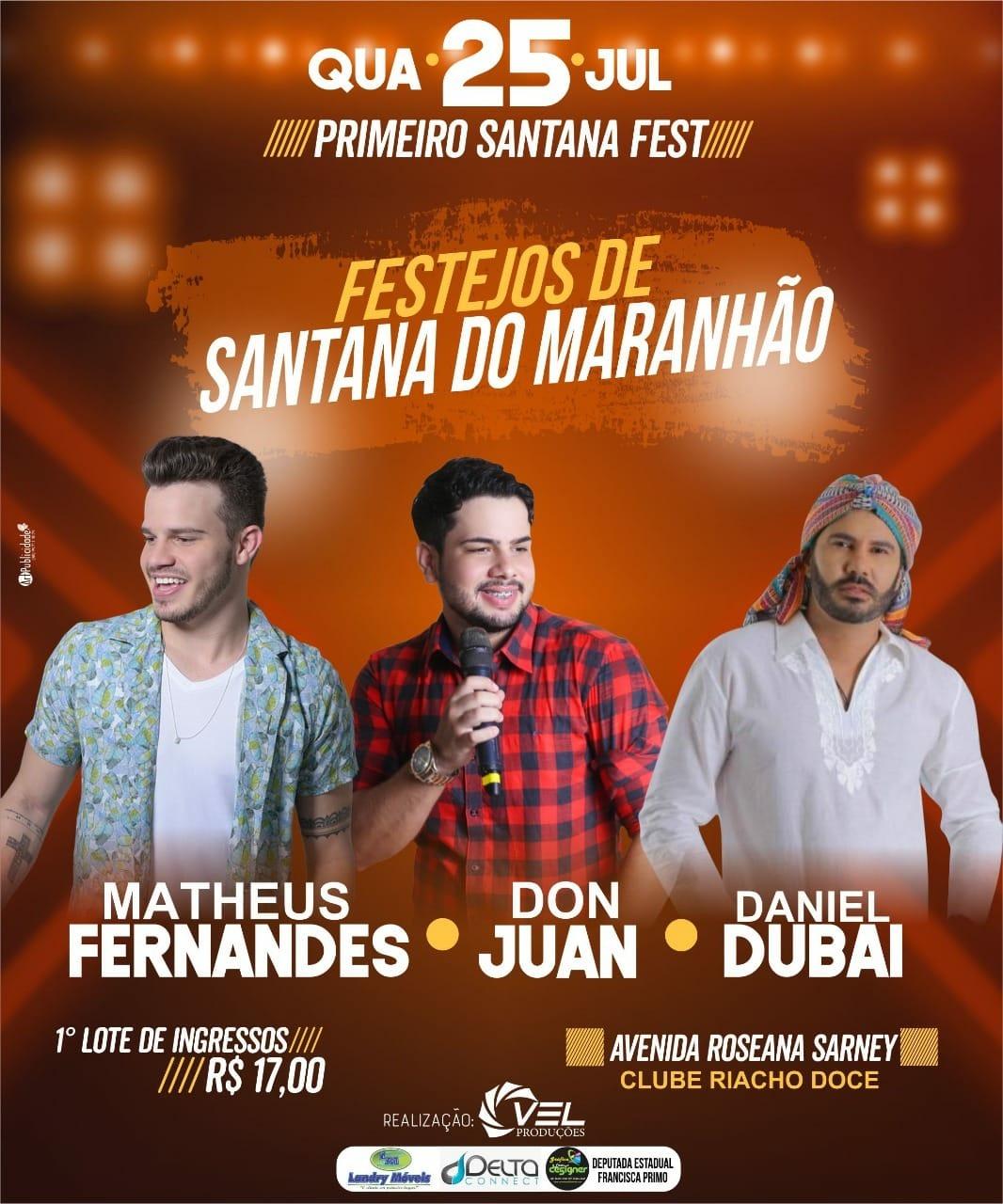 FESTEJOS DE SANTANA DO MARANHÃO