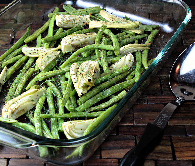 Roasted Green Beans with Fennel | Generation Y Foodie