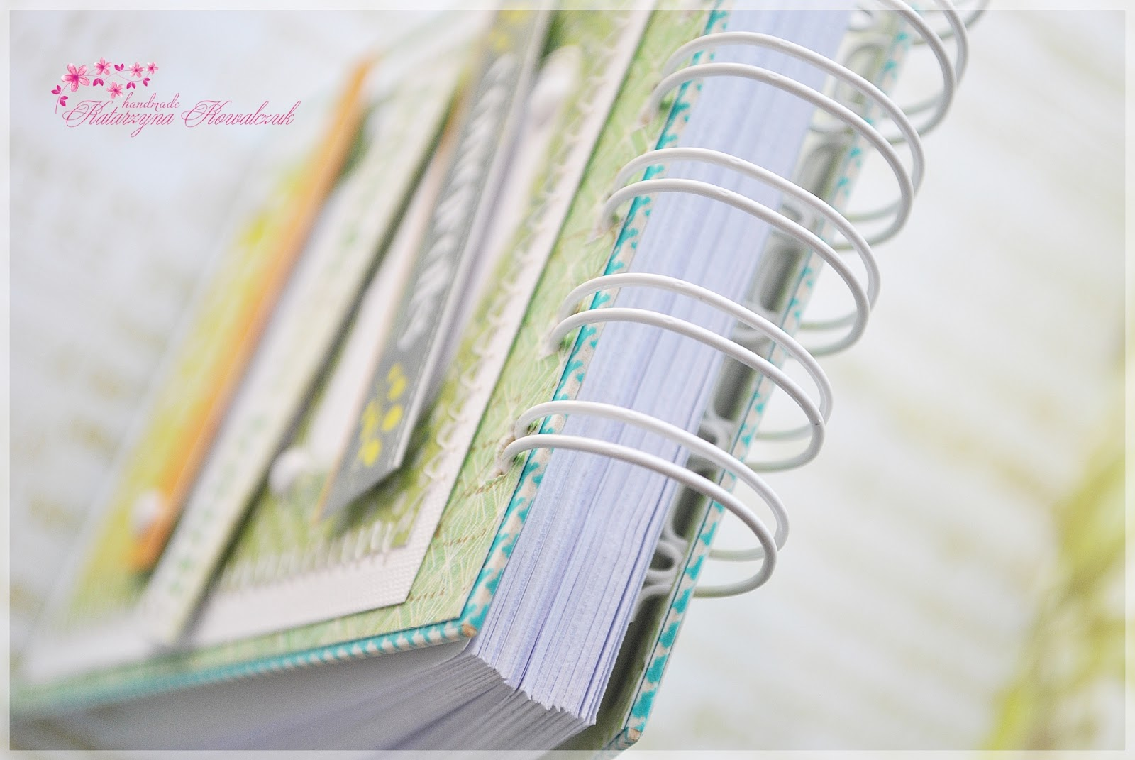 notes, notatnik scrapbooking