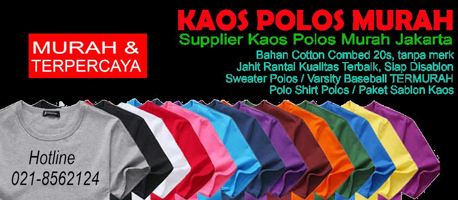 KPM - Supplier Kaos Polos Murah Grosir kaos polos combed dan Jasa Sablon Kaos Murah