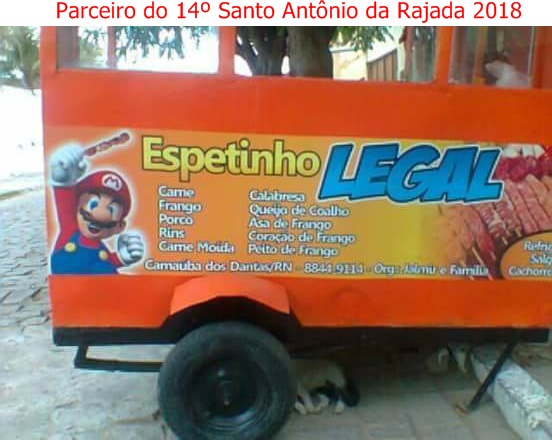 ESPETINHO LEGAL: Carnaúba dos Dantas/RN