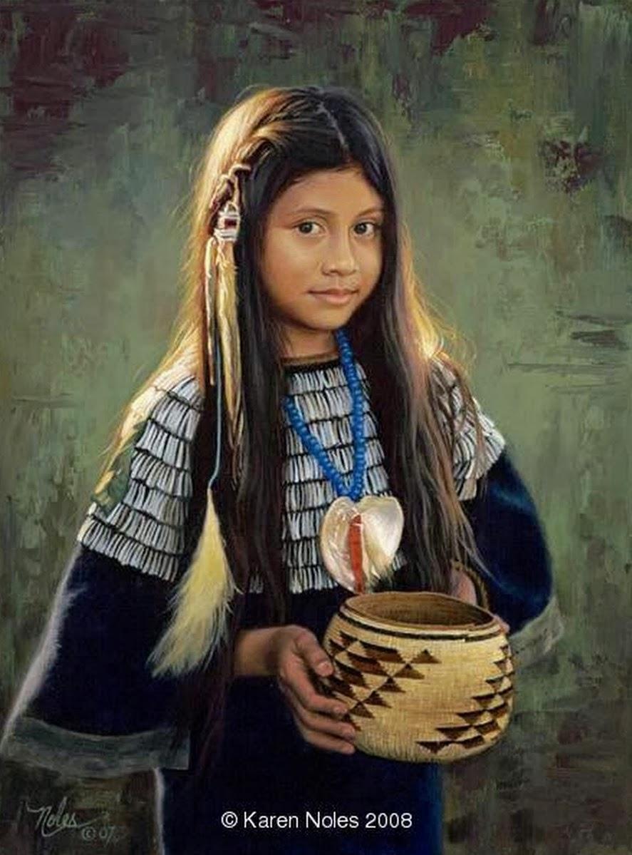 Mujeres nativas americanas desnudas