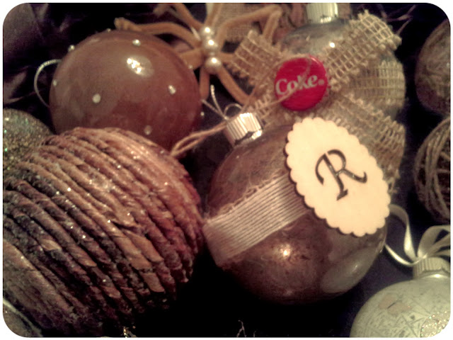 Pinterest-Inspired Rustic Christmas Ornaments