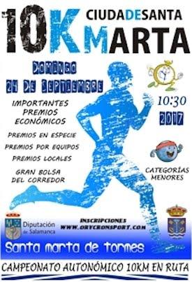 Luis Miguel Sánchez Blanco y Jennifer Pérez aspiran a ser campeones autonómicos de 10 km. en ruta