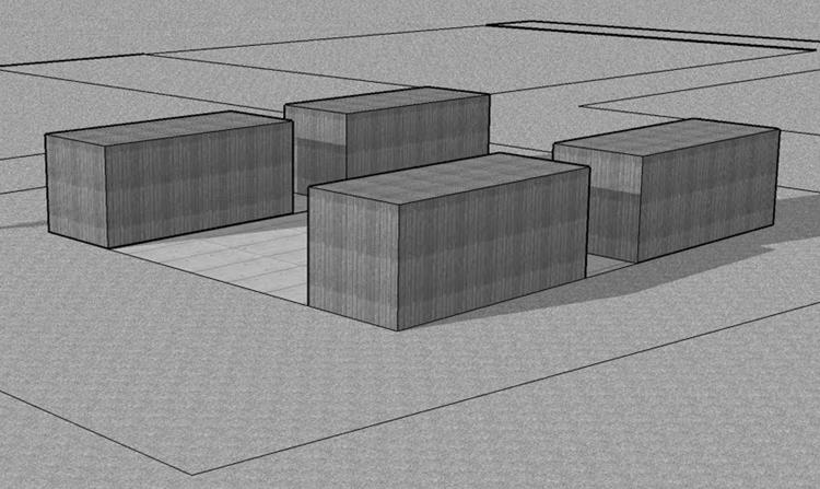 Maison container - Combien coute une maison container ...