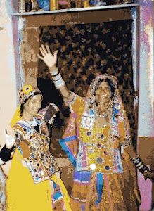 Lamani Gypsy Dancing at Home Karnataka