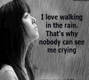 love quotes about rain quotation